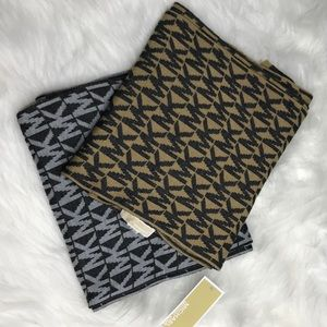 Michael Kors reversible scarves